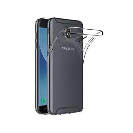 Funda Silicona Samsung Galaxy J7 2017 Transparente