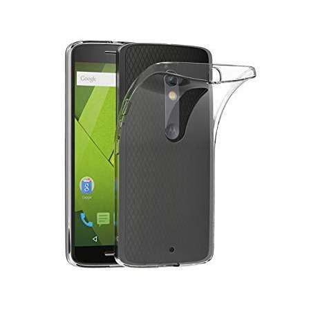 Funda Silicona Motorola Moto X Play Transparente
