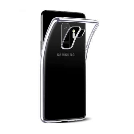 Funda Silicona Samsung Galaxy S9 Plus Transparente