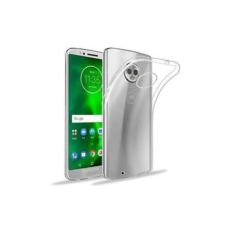 Funda Silicona Motorola Moto G6 Transparente