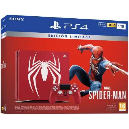 Sony PS4 PlayStation 4 Slim 1TB Edicion Especial + Spider-Man