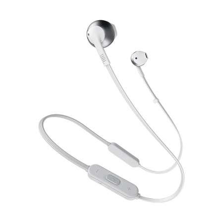 JBL T205 Auriculares con Micrófono Blanco/dorado