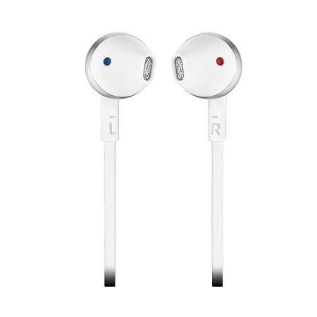 JBL T205 Auriculares Bluetooth Blanco/Gris