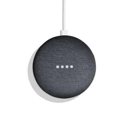 Google Home Mini Altavoz Inteligente y Asistente Carbón