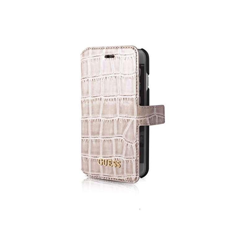 Funda Guess Iphone 7 cocodrilo gris