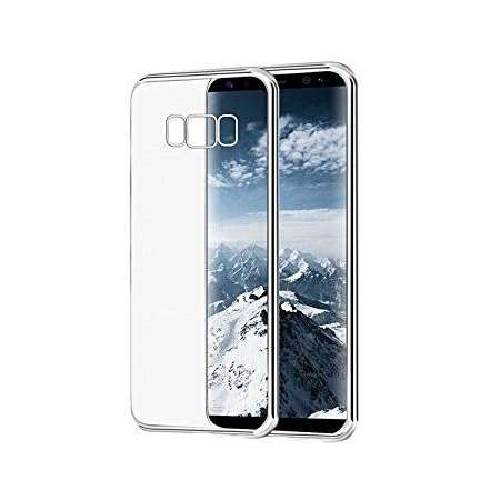 Funda Silicona Samsung Galaxy S8 Transparente