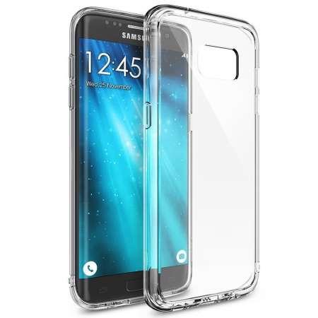 Funda Silicona Samsung Galaxy S7 EDGE Transparente