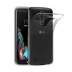 Funda Silicona LG K10 Transparente