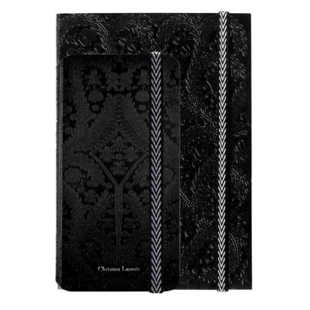 Funda + agenda Iphone 6 Christian Lacroix negro