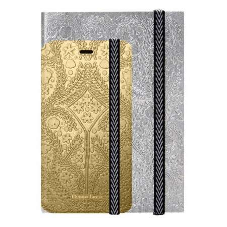 Funda + agenda Iphone 6 Christian Lacroix Dorado