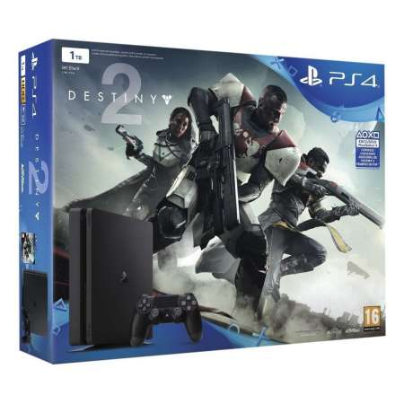 Sony PS4 PlayStation 4 Slim 1TB + Destiny 2