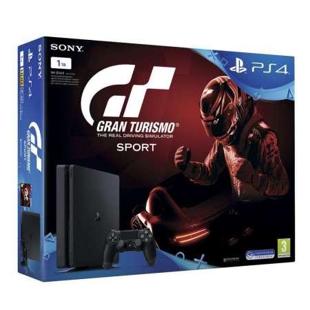 Sony PS4 PlayStation 4 Slim 1TB + Gran Turismo Sport