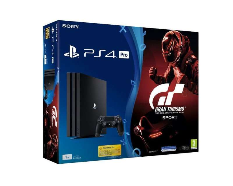 sony ps4 playstation 4 pro 1tb gran turismo sport. Black Bedroom Furniture Sets. Home Design Ideas