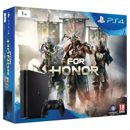 Playstation 4 Slim 1Tb + For Honor