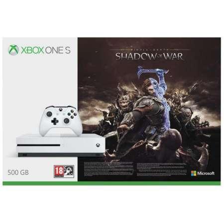 Microsoft Xbox One S 500GB + La Tierra Media: Sombras de Guerra