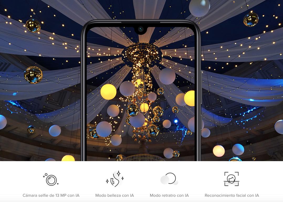 Xiaomi Redmi Note 7. Píxeles de alta sensibilidad.