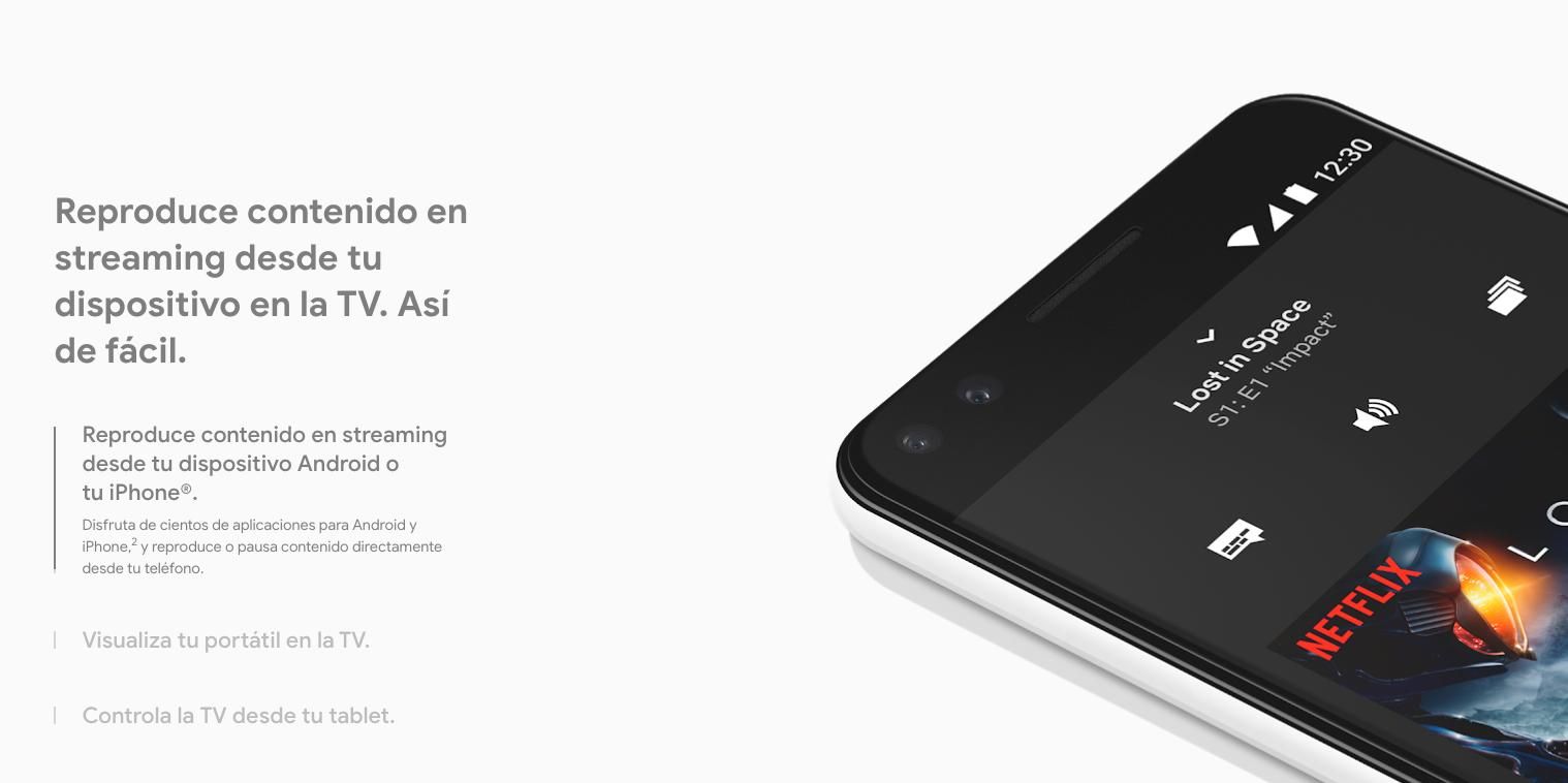 Google Chromecast V3 mejor precio