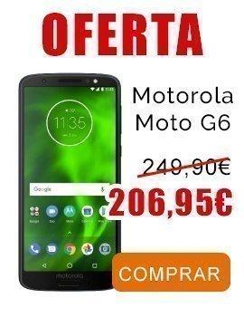 Comprar motorola Moto G6