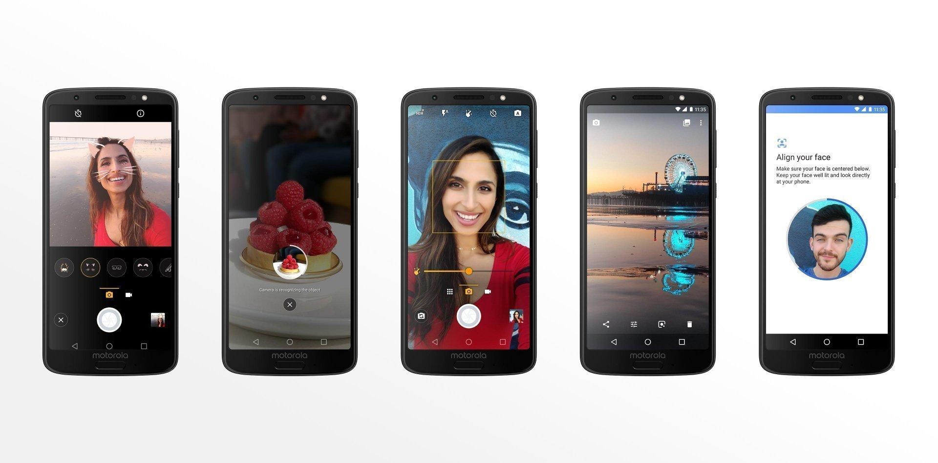 Motorola Moto G6. Retratos con calidad de estudio.