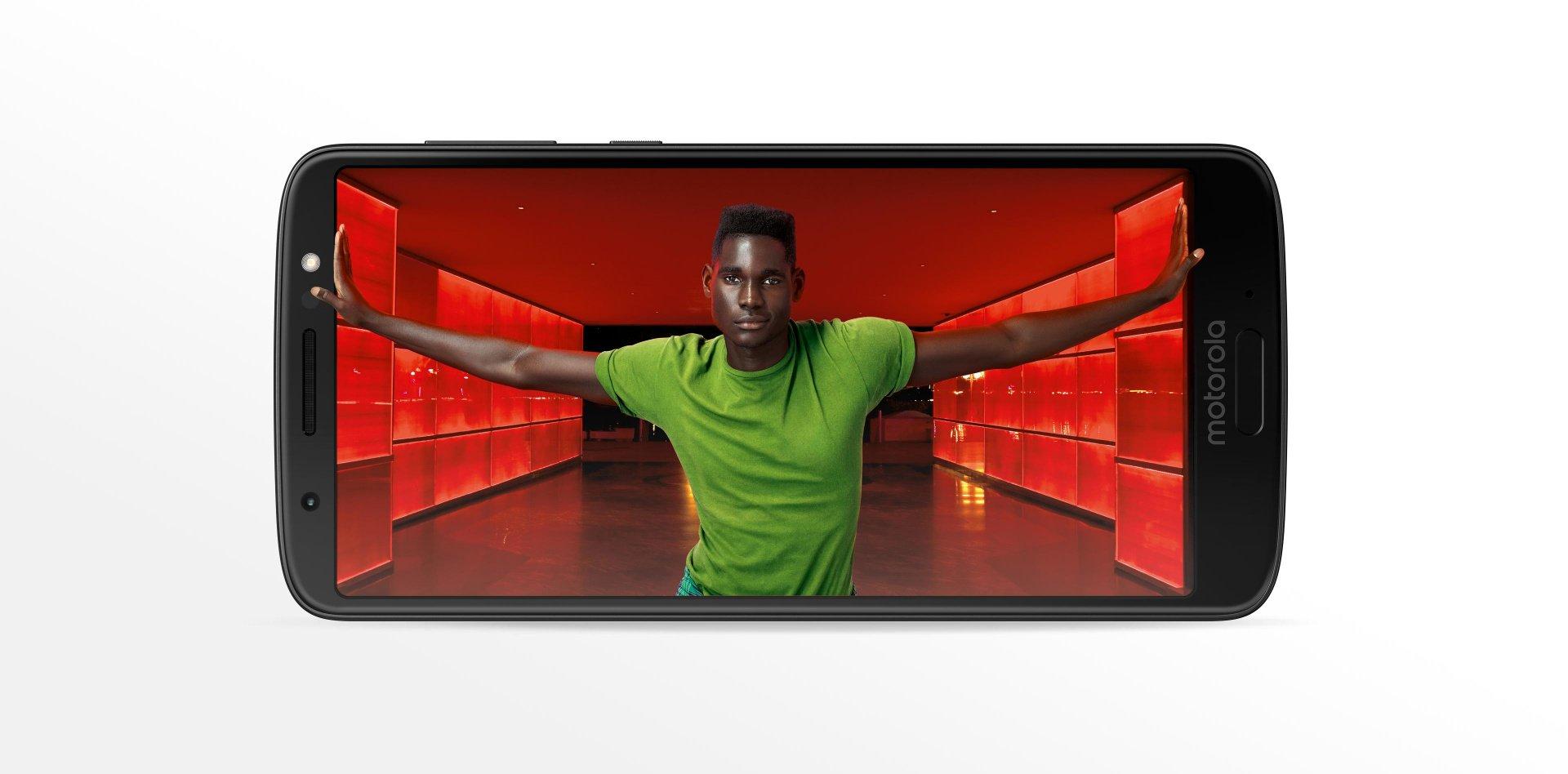 Motorola Moto G6. Más pantalla, marcos reducidos.
